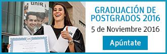 Graduación de postgrados 2016