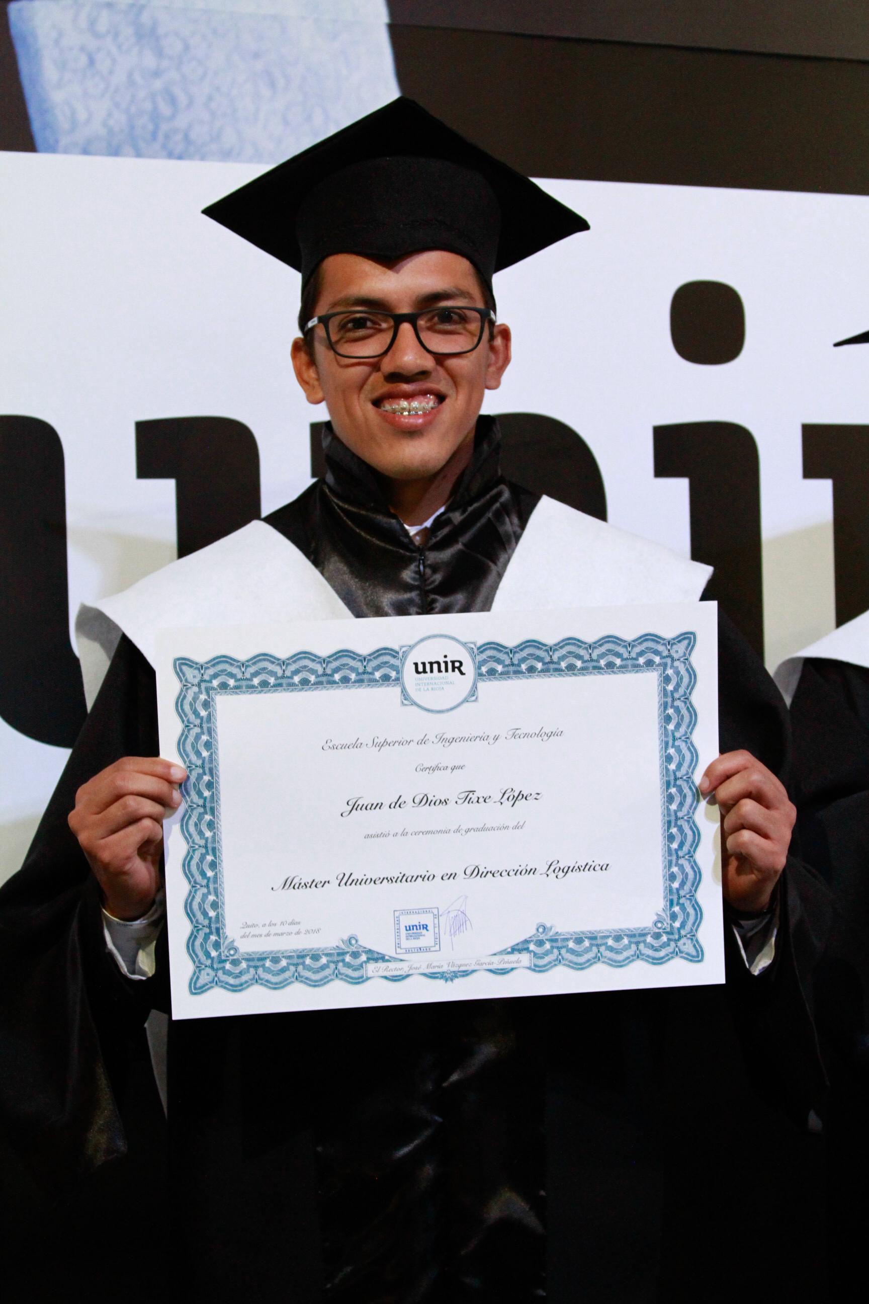 UNIR Ecuador | Diploma