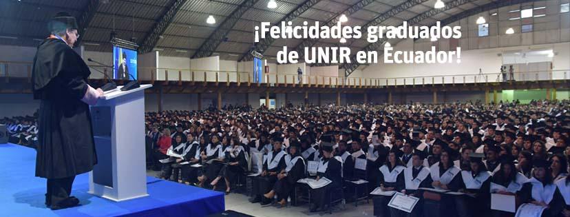Graduación UNIR Colombia 2014